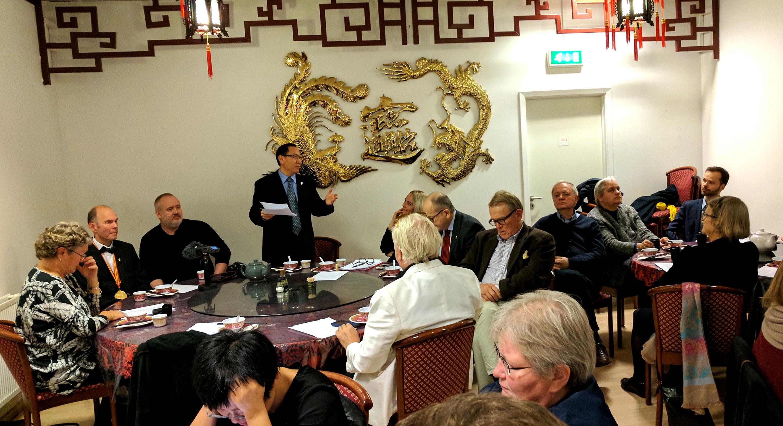 Zhang Weidong, sendiherra Alþýðulýðveldis Kína
