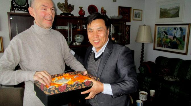 Jin zhijian nýr sendiherra kína